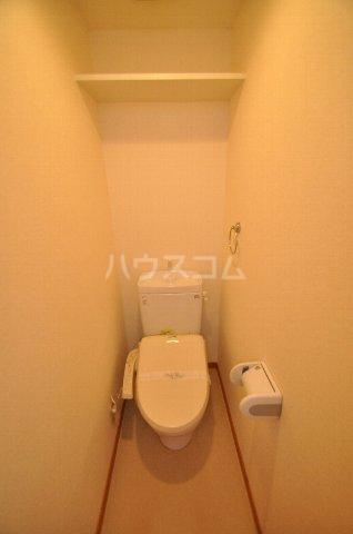 ベネフィスタウン箱崎東1 101号室のトイレ