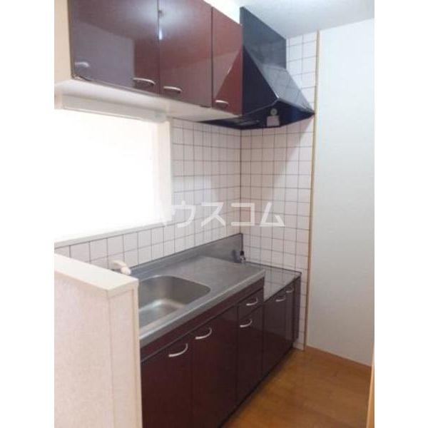 モンテローザ 102号室のキッチン