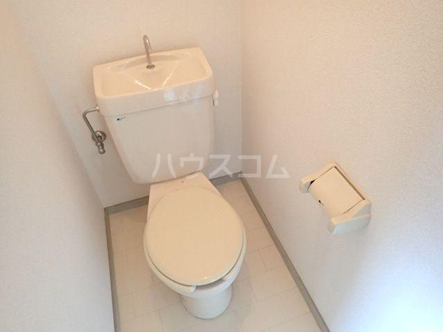 シティベール松崎 207号室のトイレ