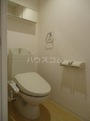 仮)篠栗町尾仲新築アパート 203号室のトイレ