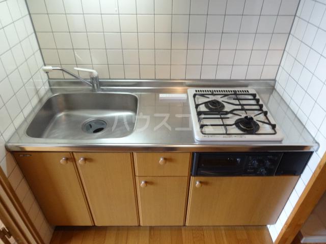 第16川崎ビル 202号室のキッチン
