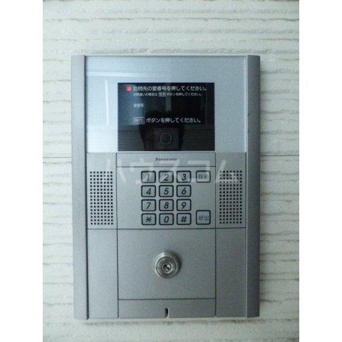 クレッシェンド空港前 102号室のセキュリティ