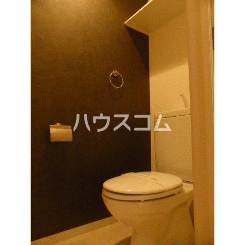 クレッシェンド空港前 102号室のトイレ