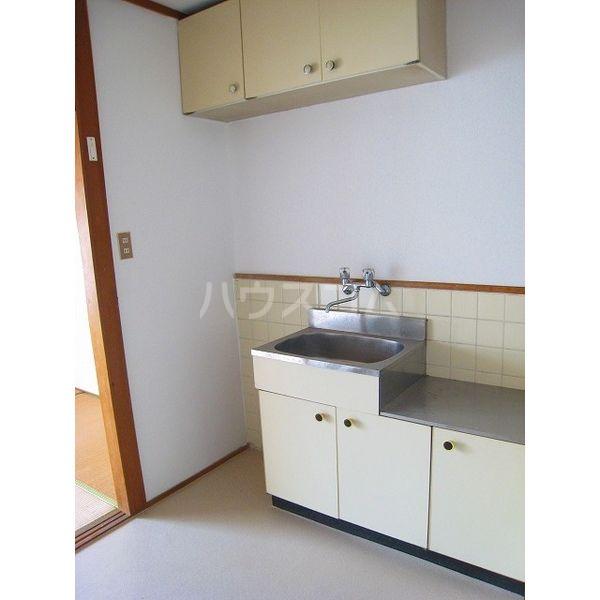 プランドゥ原田 102号室のキッチン