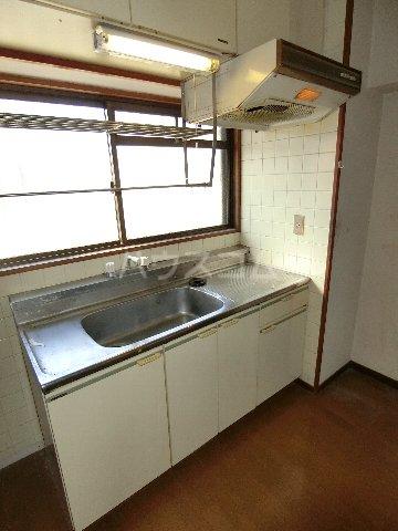 プランドゥ箱崎宮前 101号室のキッチン