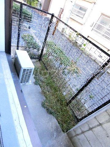 プランドゥ箱崎宮前 101号室のバルコニー