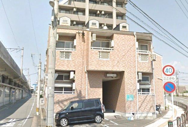 ソフィー箱崎 205号室のエントランス