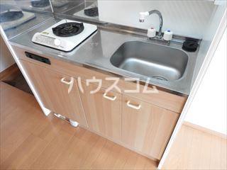 ソフィー箱崎 205号室のキッチン