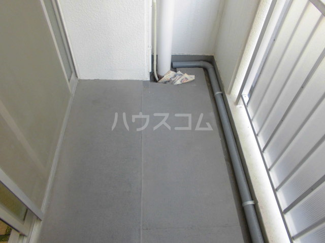 渕野ビル 402号室のバルコニー
