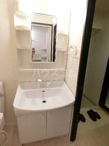 レジデンス箱崎 704号室の洗面所