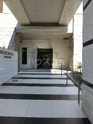 レジデンス箱崎 704号室のエントランス
