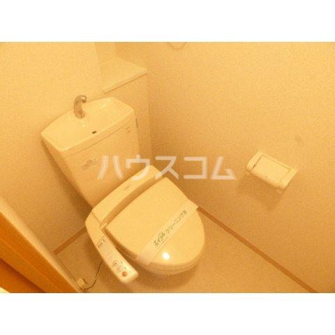 プレミール ベガ 202号室のトイレ