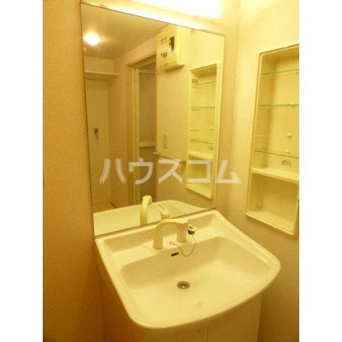 プレミール ベガ 202号室の洗面所