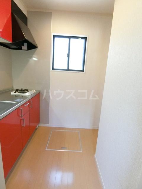 ドリームK D号室のキッチン