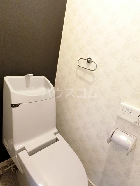 ドリームK D号室のトイレ