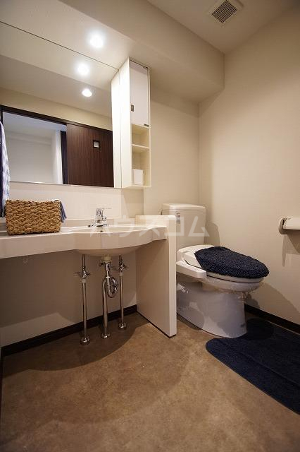 フェルト627 507号室のトイレ