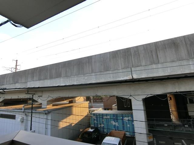 バーンメアオ チットロム 101号室の景色