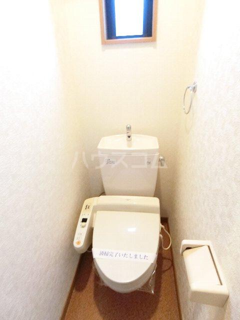 サンリバー箱崎駅南 201号室のトイレ