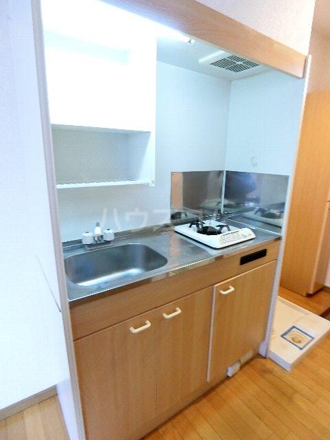 サンリバー箱崎駅南 201号室のキッチン