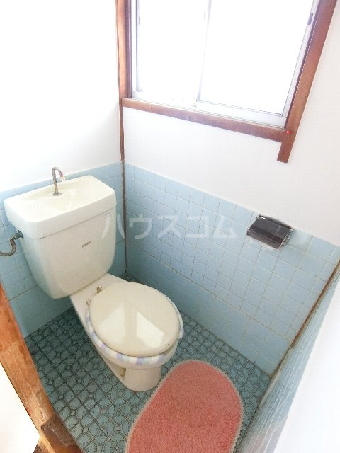 丸源荘 202号室のトイレ