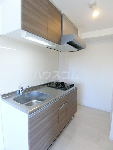 ウインステージ箱崎Ⅱ 1101号室のキッチン