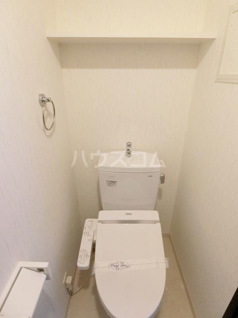 ウインステージ箱崎Ⅱ 1101号室のトイレ