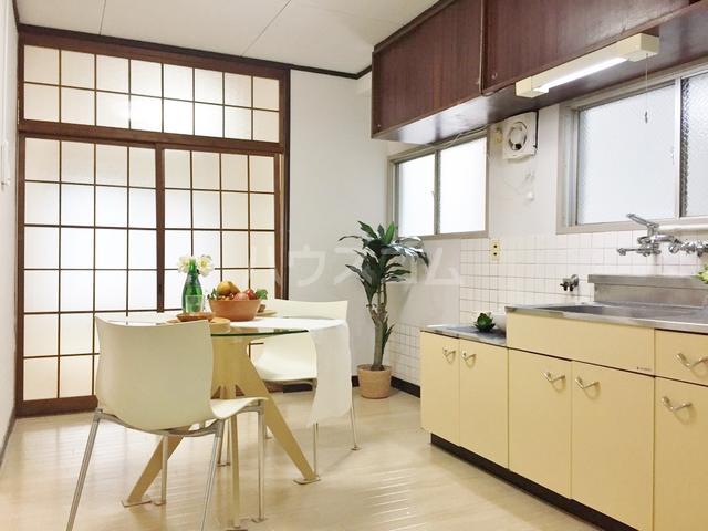パークサイドコーポ 406号室のキッチン