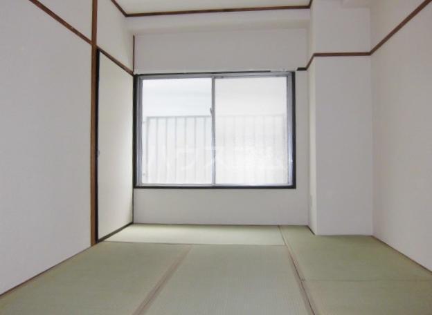 パークサイドコーポ 406号室のベッドルーム