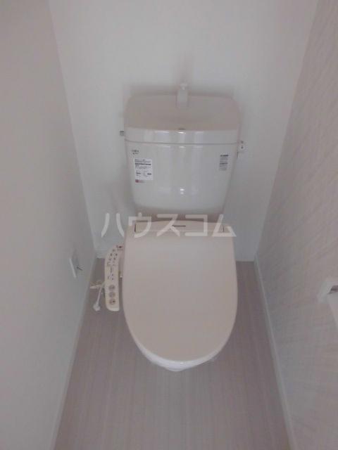 リッツハウス箱崎 202号室のトイレ