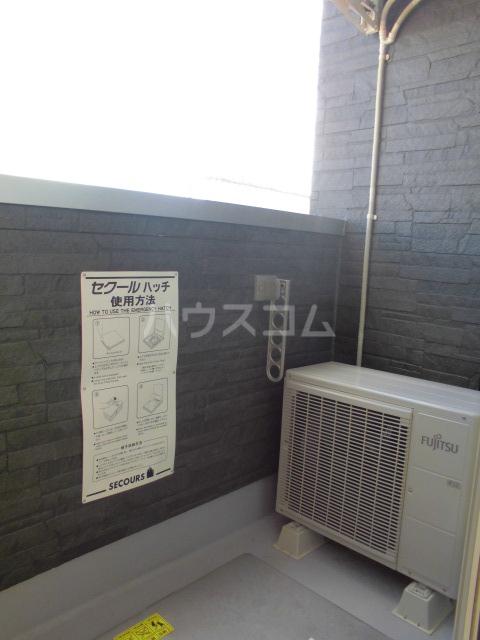 リッツハウス箱崎 202号室のバルコニー