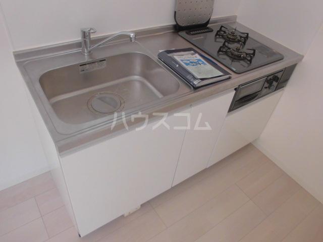 リッツハウス箱崎 202号室のキッチン