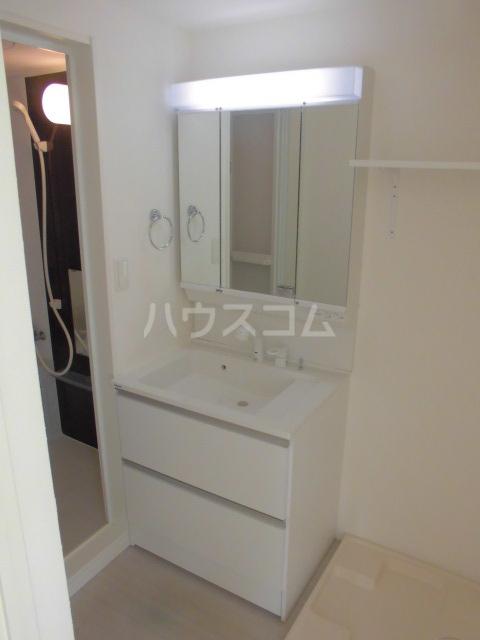 リッツハウス箱崎 202号室の洗面所
