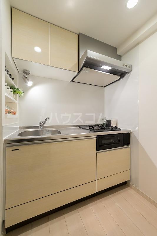 ALFACIO De Clave 1110号室のキッチン