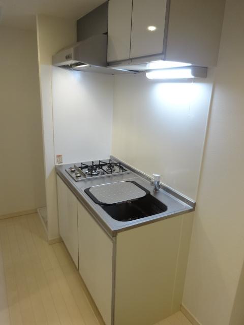 エスカール 202号室のキッチン