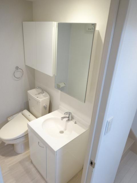 エスカール 202号室の洗面所