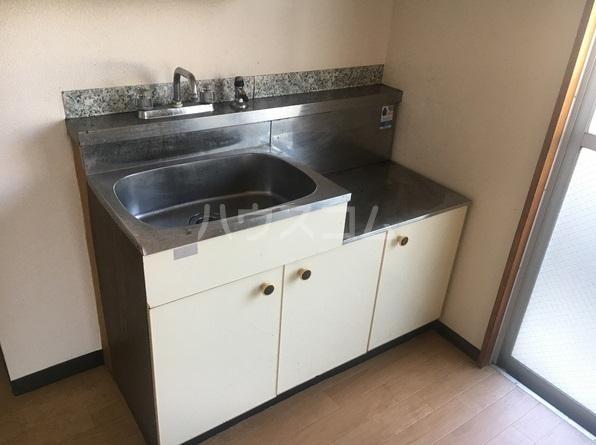 ルポ馬出 405号室のキッチン
