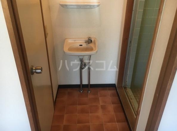 ルポ馬出 405号室の洗面所