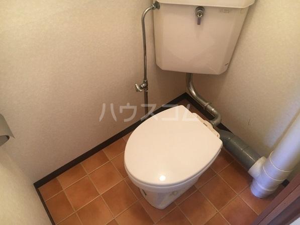 ルポ馬出 405号室のトイレ