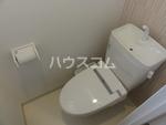 CB箱崎アンジュ 1 201号室のトイレ