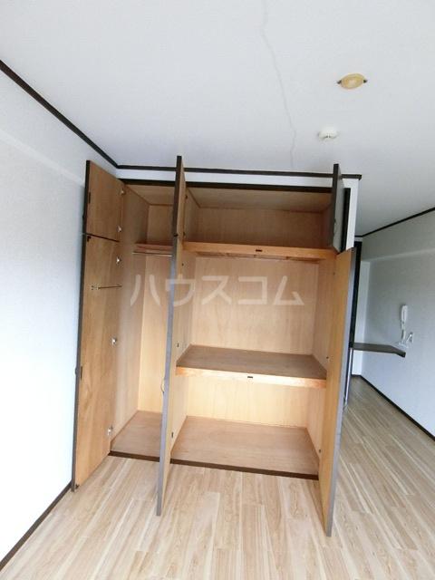 レジデンスコア 310号室の収納