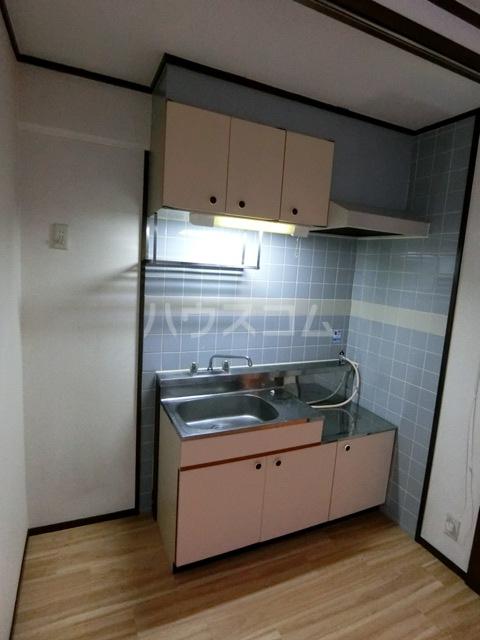 レジデンスコア 410号室のキッチン