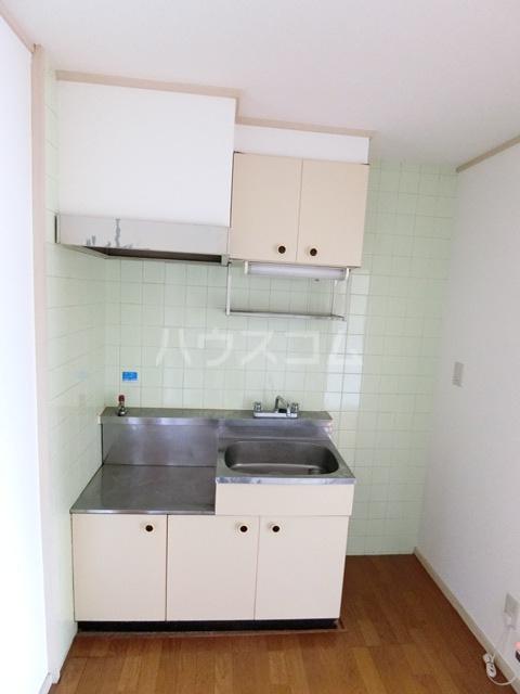 レジデンス香椎 203号室のキッチン