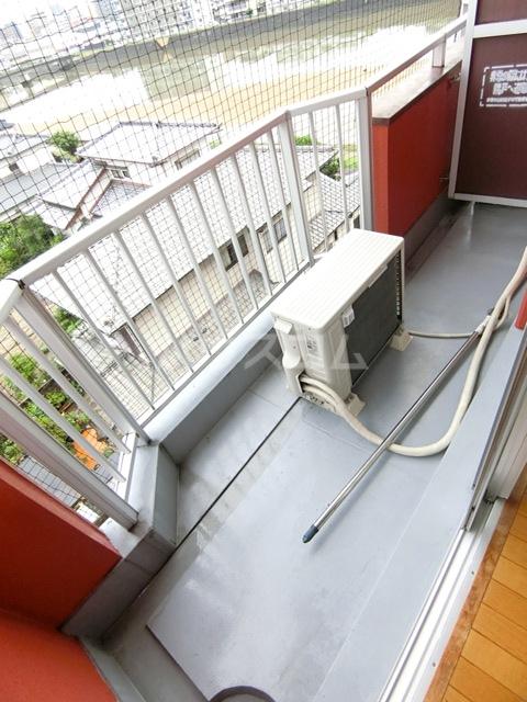 レジデンス松島 108号室のバルコニー