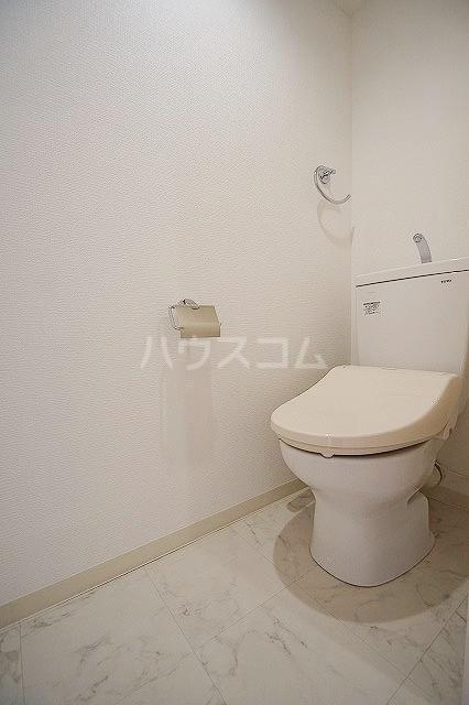 アバンダント85 201号室のトイレ
