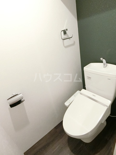 Branche箱崎宮前 406号室のトイレ