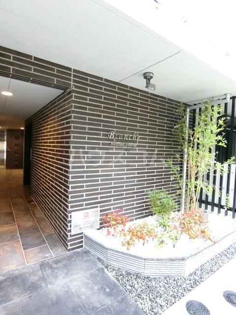 Branche箱崎宮前 406号室のエントランス