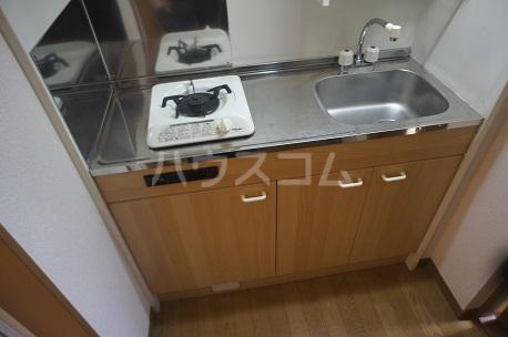 ハピネス箱崎 101号室のキッチン