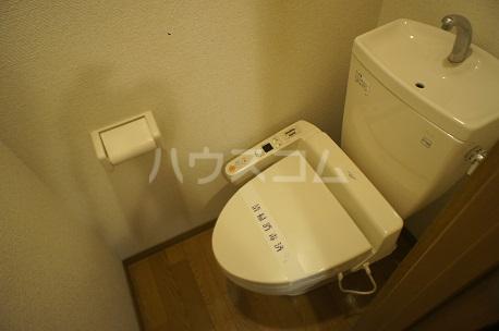 ハピネス箱崎 101号室のトイレ