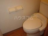 ルミナスハイム 107号室のトイレ