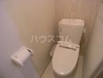 CB千早エクラ2 102号室のトイレ